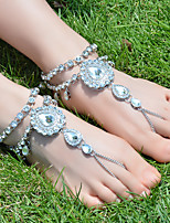 Women's Anklet/Bracelet Rhinestones Alloy Fashion Drop Jewelry For Daily Casual Running