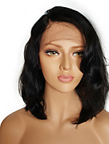 Full Lace Wigs Short Hair Human Hair Body Wave Summer