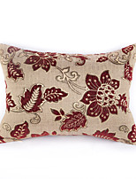 chenille Pillow Cover Polyester-red