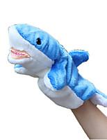 Bonecas Tubarão Tecido Felpudo