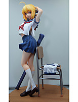 Anime Action Figures Inspired by Cosplay Saber PVC 24 CM Model Toys Doll Toy 1pc