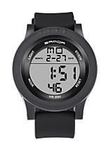Hombre Reloj Deportivo Reloj Militar Reloj Smart Reloj de Moda Reloj de Pulsera DigitalLED Calendario Cronómetro Noctilucente Monitores