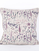 Cotton/Linen Pillow Case-violet