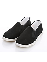 Men's Loafers & Slip-Ons Comfort Light Soles Fabric Spring Fall Office & Career Casual Walking Flat Heel Blue Light Grey Under 1in