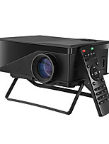 LCD WVGA (800x480) Projecteur,LED 1200 Mini Portable Projecteur