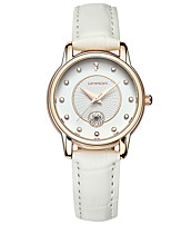 Women's Fashion Watch Quartz Leather Band Casual Black White Brown Rose