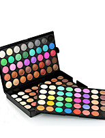 120  Color Eyeshadow Palette Dry Eyeshadow palette Pressed powder Normal Daily Makeup Brush