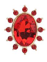 Ring StrassBasis Einzigartiges Design Logo Stil Blumen Stil Geometrisch Britisch Klassisch Langlebig Elegant Modisch Vintage bezaubernd