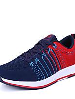 Для мужчин Кеды Удобная обувь Туфли Мери-Джейн Ткань Весна Лето Для прогулок Повседневный Для занятий спортом Беговая обувь ШнуровкаНа