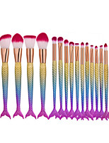 16pcs Makeup Brush Set Synthetic Hair