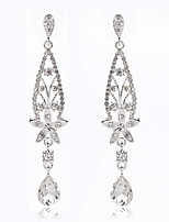 Romantic Leaves Water Drop Earrings