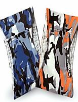 Chien Pantalon Vêtements pour Chien Décontracté / Quotidien Géométrique Orange Bleu
