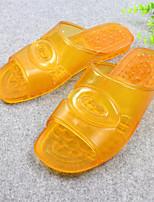 Men's Slippers & Flip-Flops Comfort PU Spring Casual Comfort Burgundy Brown Flat