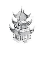 Puzzles 3D - Puzzle Bausteine Spielzeug zum Selbermachen Berühmte Gebäude Edelstahl Model & Building Toy