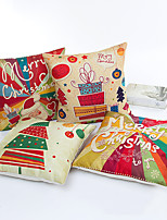 1 pcs  45*45cm Cartoon Christmas Series  Pillow Case