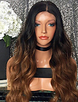 Ombre T1B/30 Brazilian Hair Lace Wigs Body Wave Lace Front Human Hair Wigs Virgin Remy Hair Wig for Woman 180% Density