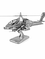 Puzzles 3D - Puzzle Bausteine Spielzeug zum Selbermachen Helikopter Metall Model & Building Toy