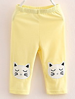 2017 Summer Children's  Leggings of The Girls Baby Five Minutes of Pants Leggings in Female Children