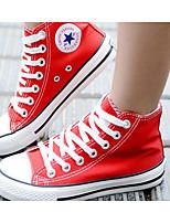 Da donna Sneakers Di corda Primavera Bianco Rosso Blu Piatto