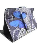 Pour Etuis coque Avec Support Avec Clavier Clapet Motif Coque Intégrale Coque Papillon Dur Cuir PU pour AppleIPad pro 10.5 iPad (2017)