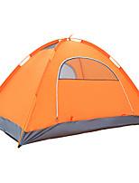 3-4 personnes Tente Unique Tente automatique Une pièce Tente de camping 2000-3000 mm Résistant à l'humidité Etanche-Camping Voyage
