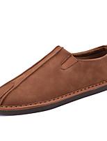 Для мужчин Мокасины и Свитер Удобная обувь Кожа Весна Лето Осень Зима Повседневный Для занятий спортом Для вечеринки / ужина Для прогулок