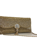 Women Handmade Beads Event/Party/Clutches Bag Gold/Silver/Black