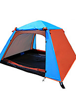1 person Tent Double Automatic Tent One Room Camping Tent <1000mm Polyester Oxford Moistureproof/Moisture Permeability Waterproof-Camping