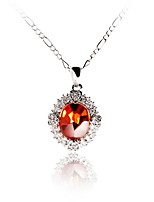 Women's Pendant Necklaces Jewelry Jewelry Zircon Alloy Unique Design Euramerican Fashion Jewelry ForWedding Party Birthday
