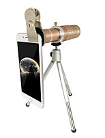 Mobile phone telescope 18x and 37MM mobile phone clip soil Hao gold