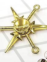 Fidget Spinner Inspired by Naruto Naruto Uzumaki Anime Cosplay Accessories Chrome 7CM