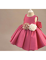BONJEAN Ball Gown Knee-length Flower Girl Dress Scoop with
