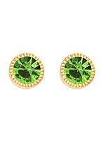 Per donna Orecchini a bottone Gioielli Personalizzato Euramerican Di tendenza Cristallo Lega Gioielli Gioielli Per Matrimonio Feste 1 paio