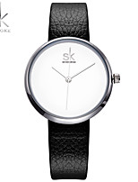 SK Women's Women Bracelet Watch Japanese Quartz Water Resistant / Water Proof Shock Resistant  Charm Luxury CasualWhite Blue Grey