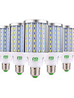 E26/E27 Ampoules Maïs LED 108 SMD 5730 3350-3450 lm Blanc Chaud Blanc Froid Décorative AC 85-265 V 5 pièces