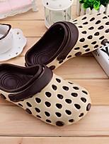 Men's Sandals Comfort Tulle Spring Casual Comfort Khaki Blue Ruby Flat