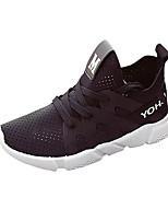 Women's Athletic Shoes Spring Fall Comfort Microfibre Casual Flat Heel  Royal Blue Fuchsia Black Walking