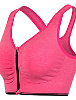 Ladies Sports Bra Pre-zipper Professional Shockproof Breathable Steel Circle Yoga Sports Lingerie