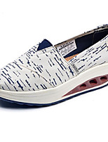 Women's Sneakers Comfort Canvas Spring Casual Blue Gray Beige Flat