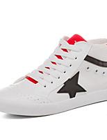 Da donna Sneakers Comoda Di corda Primavera Casual Comoda Bianco/nero Rosso/Bianco Piatto