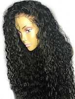 130% Density Hot Glueless Lace Front Human Hair Wigs 10A Brazilian Curly Lace Front Wigs with Baby Hair Natural Hairline 100% Human Hair No Shedding