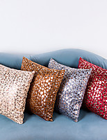 1 pcs  45*45cm Short Haired Leopard Print  Pillow Case