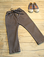 Unisex Going out Solid Pants Summer