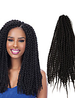 Freetress 22inch Pre Loop Island Twist Crochet Braids Synthetic Braiding Hair Extensions Beauty Kinky Curly Island Twist Out Unraveled twist weave