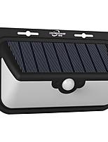 Solar Wall Light Outdoor Human Body Sensing Light Home Solar Lighting Streetlight 48 Led Courtyard Landscape Light