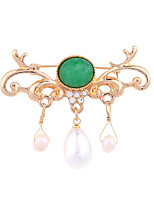 Women's Brooches Fashion Personalized Euramerican Alloy Jewelry For Wedding Party Special Occasion