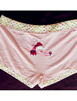 Print Shorties & Boyshorts Panties Boxers Underwear,Cotton