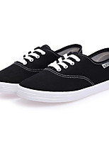 Women's Sneakers Comfort Canvas Spring Casual Yellow Gray Black Flat