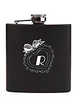 Bride Groom Bridesmaid Groomsman Couple Parents Gifts Piece/Set Hip Flasks 6oz