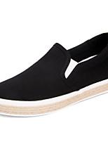 Women's Sneakers Comfort Canvas Spring Casual Blushing Pink Black White Flat